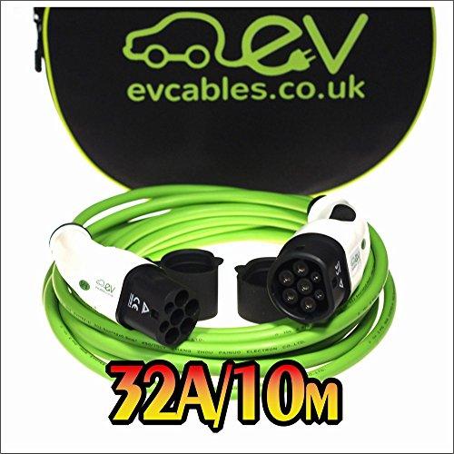 ev cables chc004 typ 2 mode 3 ladekabel 22 kw 32 a 10 m. Black Bedroom Furniture Sets. Home Design Ideas