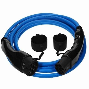 EV Cables Premium Ladekabel für Elektroautos | Typ 2 | 22 kW | 32 A | 7 m |