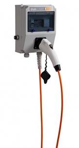 Wallbox WALLI-Light 3,7 kW 20A 1-phasig Typ 1 Ladestecker mit 5 Meter Ladeleitung -