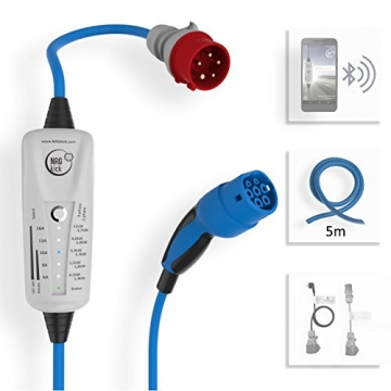 NRGkick LIGHT mobile Ladestation / Ladekabel (11 kW, Typ 2)