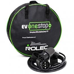 EV OneStop Ladekabel für Elektroautos | Typ 2 | 32 A | 7,2 kW | 5 m |