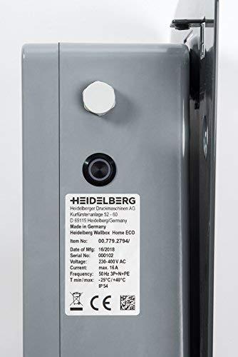 Heidelberg Wallbox Home Eco | 11 kW | Typ 2 | 3,5 m | – Ladestation für Elektroautos